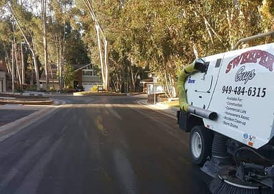 HOA Street Sweeping